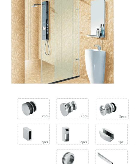 phụ kiện lùa phòng tắm kính SL2000