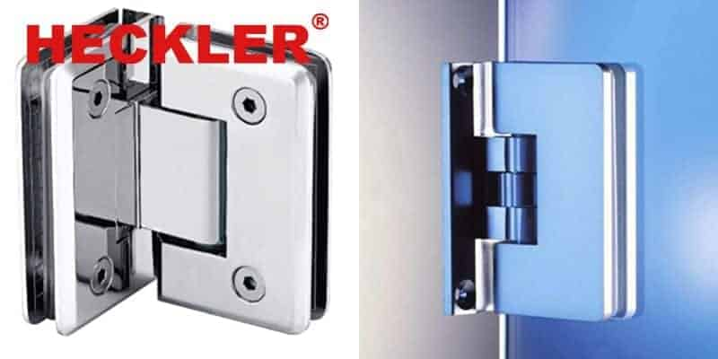 3 - Top 10 mẫu bản lề kính cường lực phòng tắm Heckler