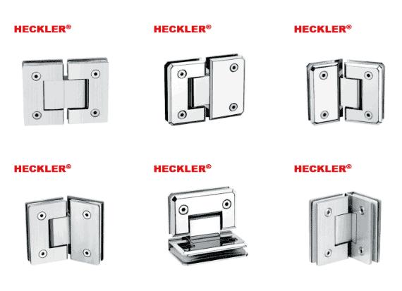 5 - Top 10 mẫu bản lề kính cường lực phòng tắm Heckler